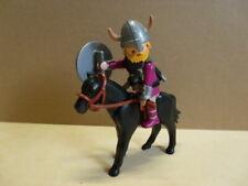 PLAYMOBIL Wikinger Häuptling Krieger Pferd Waffe Barbar Abenteuer
