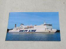 Skania ex Superfast, Eurostar Roma - Unity Line -Prom Ferry Ship Fährschiff Boat