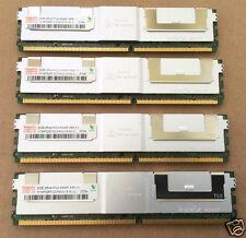 Hynix 8GB Kit (4x2GB) 2Rx4 PC2-5300F DDR2-667MHz ECC Reg HYMP525F72CP4N3-Y5 RAM