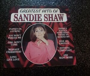 SANDIE SHAW    THE GREATEST HITS       CD