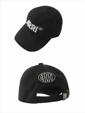 ARRI Black Cap Unisex Adjustable Snapback Baseball Hat Canon Linhof Cotton