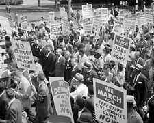 CIVIL RIGHTS MOVEMENT MARCH ON WASHINGTON 8X10 PHOTO