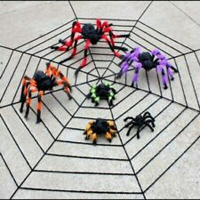 3 X Large Hairy Giant Spiders Halloween Haunted House Prop Prank Party Deco 75CM