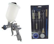 Anest Iwata AZ3 HTE2 1.5mm Gravity Spray Gun + Akulon Cup & Gun Cleaning Kit