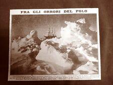 La spedizione al Polo di Sir Ernest Henry Shackleton nel 1917 Nave Endurance