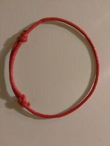 Red String Kabbalah LUCKY Bracelet Against Evil Eye 1 bracelet US SELLER