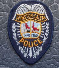 "Winston-Salem Police Patch - North Carolina - 3 3/8"" x 5"""