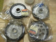 Yamaha Oem - Lot Of 4 Suspension Wheel - Ssr643 + Gp643 Snowmobile Nos Sled