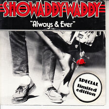 "SHOWADDYWADDY  Always And Ever PICTURE SLEEVE 7"" 45 record NEW + jukebox strip"