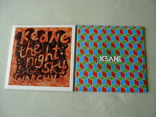 "KEANE job lot of 2 7"" vinyl singles The Night Sky Better Than This (sealed)"