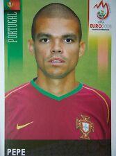 Panini 106 Pepe Portugal UEFA Euro 2008 Austria - Switzerland