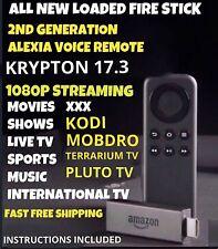 JAILBROKE Fire STICK TV w/ Alexa Quad 2nd Gen 17.3 FREE SHIPPING