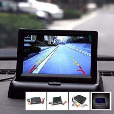 """Coche Auto 4.3"""" Plegable Pantalla LCD a color de Estacionamiento Reversa retrovisor Monitor"""