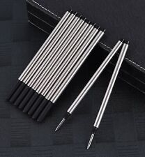 5x Black Mont Blanc Compatible Rollerball Refills - Medium Tip