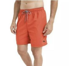 "Tommy Bahama Men's 6"" Cargo Red Hot Swim Trunks ""Happy Go"" Big & Tall"