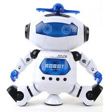 360° Robot Astronaut Smart Space Music Electronic Walking Dance Kids Toy Gift