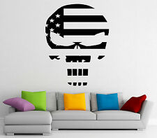 Punisher Wall Decal Vinyl Sticker Hero Marvel Comics Character Decor (15pn01r)