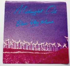Midnight Oil - Blue Sky Mine / You May Not Be Released 1990 Pic Sleeve CBS -  NM