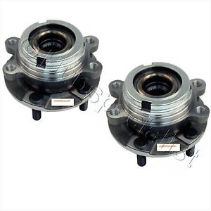 FRONT WHEEL HUB BEARING ASSEMBLY FOR 2006-2013 INFINITI M35X M37X(AWD) NEW PAIR