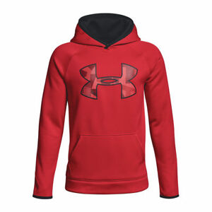Under Armour Kids Red  AF Big Logo Hoodie Size YouthXS