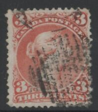 MOTON114    #25 Large Queen 3c  Canada . used