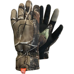 Glacier Glove Kenai Original Full Finger Gloves - Realtree Xtra