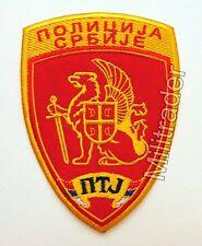Serbia Serbian Counter-Terrorist Unit Police Patch