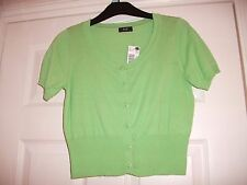Ladies Cardigan size 10 Green Brand New