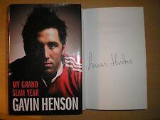 GAVIN HENSON - MY GRAND SLAM YEAR  1st/1st  HB/DJ   2005  SIGNED