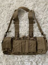 Velocity Systems Mayflower UW Gen IV Agency Custom Chest Rig SWIFT Coyote Brown