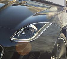 IDFR Jaguar F-Type F type 2016~on Chrome frame bezel for head lights