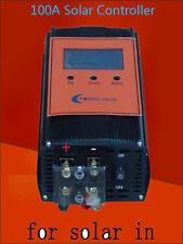 """2400W Smart Solar Controller,DC 12V / 24V,100AMP,3.5""""LCD,For 18V-54V Solar Panel"""