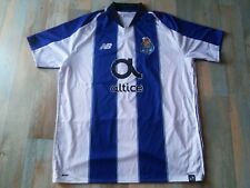 """MAILLOT FOOT NEW BALANCE FC PORTO N°1  """" CLAUDE """" TAILLE XL/D7 TBE"""