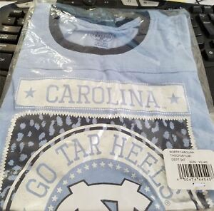 North Carolina Tar Heels Girls XS 4/5 T-Shirt NCAA Brand New