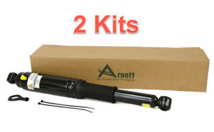 2 Active To Passive Suspension Conversion Kits ARNOTT Rear W. Electronic Bypass