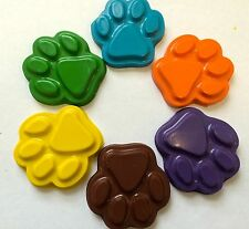 20 sets of 6 Scooby Doo Dog Paw Print Crayons Party Favor Teacher Supply Shaggy