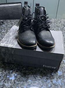 New Mens Firetrap Mozart Senior 92 Boots Shoes UK SIZE 7 EU 41