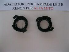 PORTALAMPADA KIT XENON ALFA ROMEO MITO COPPIA ADATTATORE H7 leg. art.