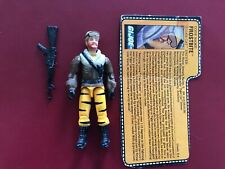 GI Joe Tiger Force Vintage 1988 Frostbite Action Figure RARE W/ File Card