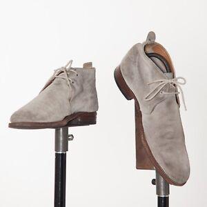 Grenson Grey Suede Chukka Boots UK7F US7.5F