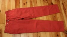 HACKETT***** STUNNING MENS RED TROUSERS CHINO VGC UK SIZE W32 L31