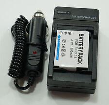 Battery + Charger for Nikon EN-EL12 COOLPIX S9400, S9500, S9600, S9700