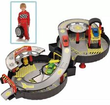 Foldable Wheel Garage Playset with Car Children's Toy Gift for Kids