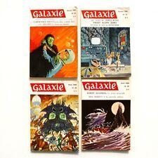 Lot de 4 livres GALAXIE n°56-57-58-59- 1969 - Science Fiction - Fantastique