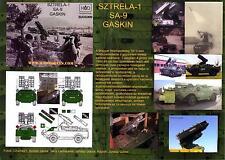 "Hungarian Aero Decals 1/35 SZTRELA-1 SA-9 ""GASKIN"" Missile Launcher"