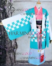 Blue Exorcist Shiemi Moriyama Cosplay Costume Kimono Dress Exquisite in Details