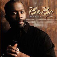 Audio CD: BeBe Live & Up Close, BeBe Winans. Good Cond. Live, Extra tracks. 0440