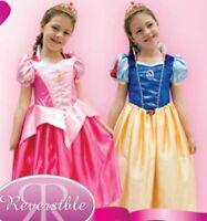 Disney Store Girl's Princess Halloween Costume Party Dress Size 3/4/5/6/7/8/9/10