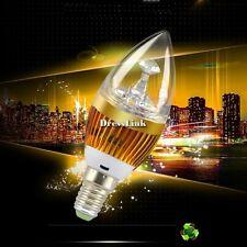 E14 3W lampada bianca calda alto potere LED lampadario Candle Light DL0