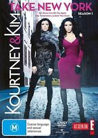 Kourtney & Kim Take New York : Season 1 - (2-Disc Set) - NEW DVD - Region 4